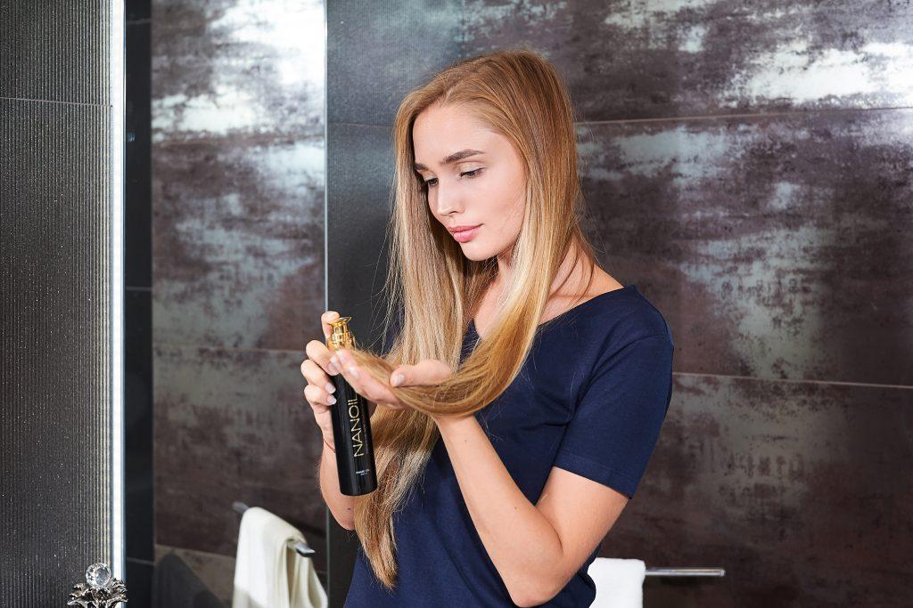 Nanoil - soin des cheveux